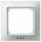 Ramka pojedyncza do łączników IP44  Ospel Impresja - Biały - RH-1Y/00