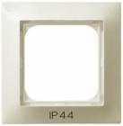 Ramka pojedyncza do łączników IP-44  Ospel Impresja - Ecru - RH-1Y/27