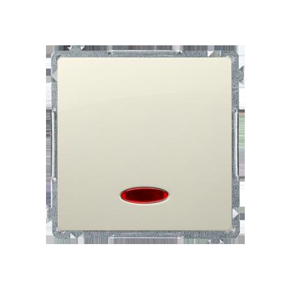 2f6b935ec3de7 ŁĄCZNIK JEDNOBIEGUNOWY (MODUŁ) Z SYGNALIZACJĄ ZAŁĄCZENIA 10 AX 250V ZACISKI  ŚRUBOWE BEŻ SIMON BASIC