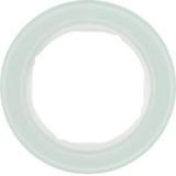 Ramka 1-krotna  szkło, biały Berker seria R.classic - 10112009