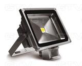 Naświetlacz LED 30W 2300lm zimny biały z czujnikiem ruchu, IP44, kolor szary GTV