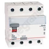 Wyłącznik Różnicowoprądowy P 304 25 A 30 mA AC - Legrand 008993
