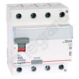 Wyłącznik Różnicowoprądowy P 304 40 A 30 mA AC - Legrand 411708